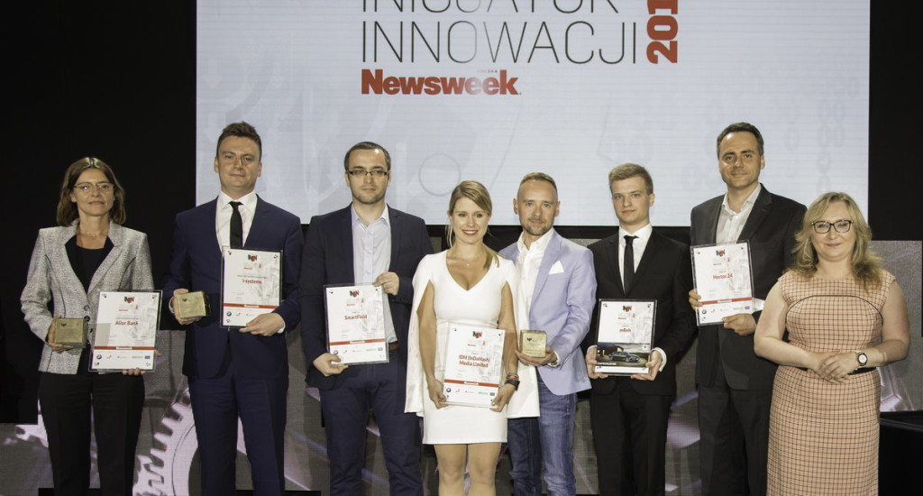 Photo during the Gala of the 2017 Innovation Initiator winners